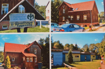 Postkarte Forsthaus Eggerode